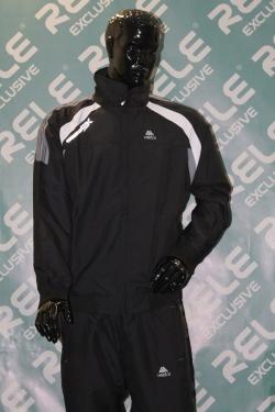 Спортивный костюм Rele Exclusive модель № 6. Цвет - черный. 100% полиэстер