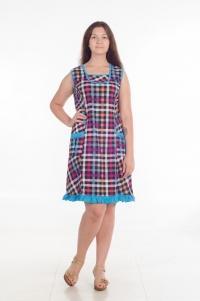 Платье модель № 3. Кулирка
