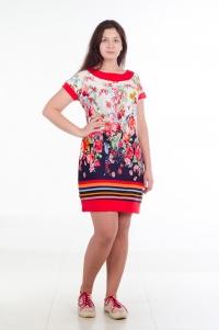 Платье модель № 1. Кулирка с лайкрой