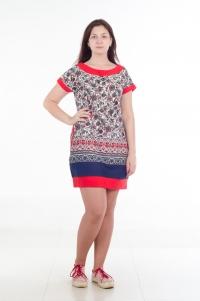 Платье модель № 2. Кулирка с лайкрой
