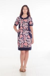 Платье модель № 4. Кулирка